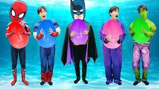 상어가족 슈퍼히어로 험티덤티 불러요! 어린이 동요 Superheros Babyshark song | 말이야와아이들 MariAndKids