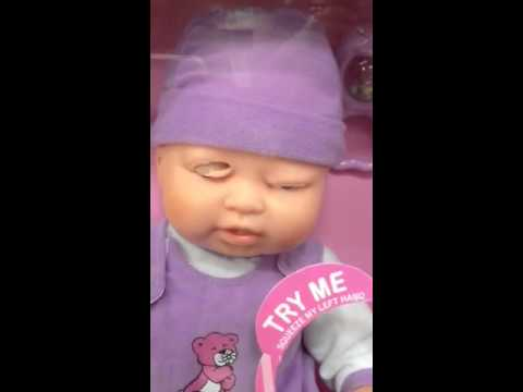Creepy Baby Doll At Walmart Youtube