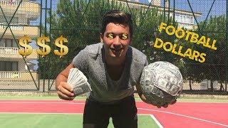 $$$ DOLAR'DAN FUTBOL TOPU !!