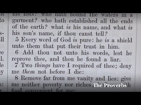The Proverbs: A Verse-By-Verse Reading From The King James Bible