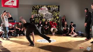 ONE PEACE YES VS BREAK RAVE |1\4 CREW| BBOY NATION 2018