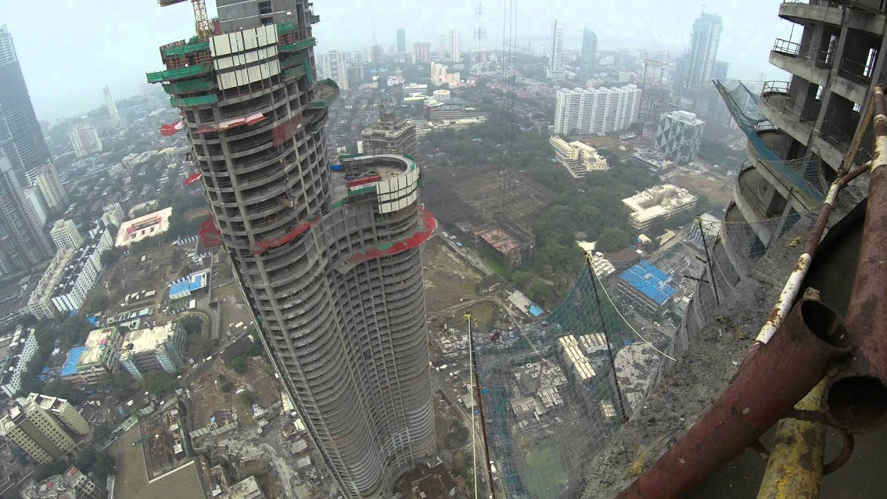 Mumbai Lodha World One Crane Youtube