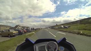 Motorbike Ride Over The Horseshoe Pass