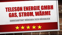 Teleson Energie GmbH Gas, Strom, Wärme - Jahresauftakt München 2020: Rückblick 🤩👁🤵👨💼👨🎤🧸🎩