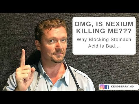 OMG, is my Nexium Killing Me? Doctor/Nurse team discusses problems with acid-blocking medications