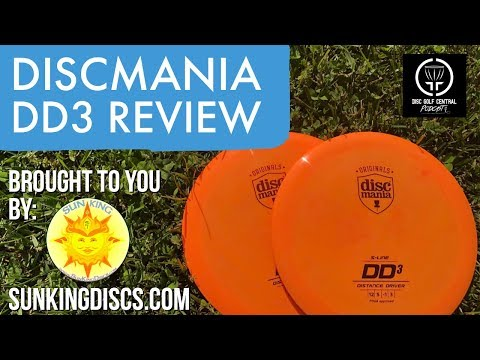 DGCentral Disc Golf Reviews: Discmania DD3 Distance Driver [Cloudbreaker]