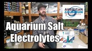 Aquarium Salt for Freshwater- Fish Electrolytes
