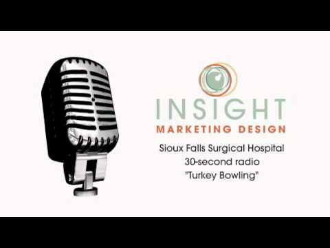 "Sioux Falls Surgical Hospital ""Turkey Bowling"" - 30 second radio"