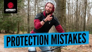 Common Mountain Bike Protection Mistakes | How To Wear MTB Pads