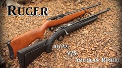 Ruger 10/22 vs American Rimfire review
