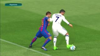 Real Madrid VS Barcelona PES 2017 PS3