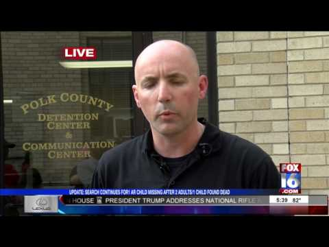 Fox16 News at 5:30: Mena Missing Kids Breaking News Update 04-28-17