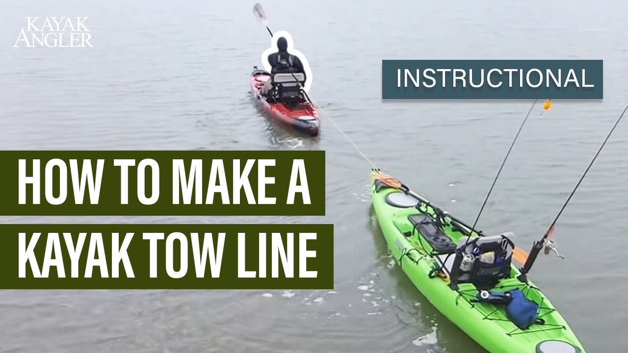 medium resolution of how to make a kayak tow line