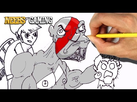 Video Game Drawing Challenge