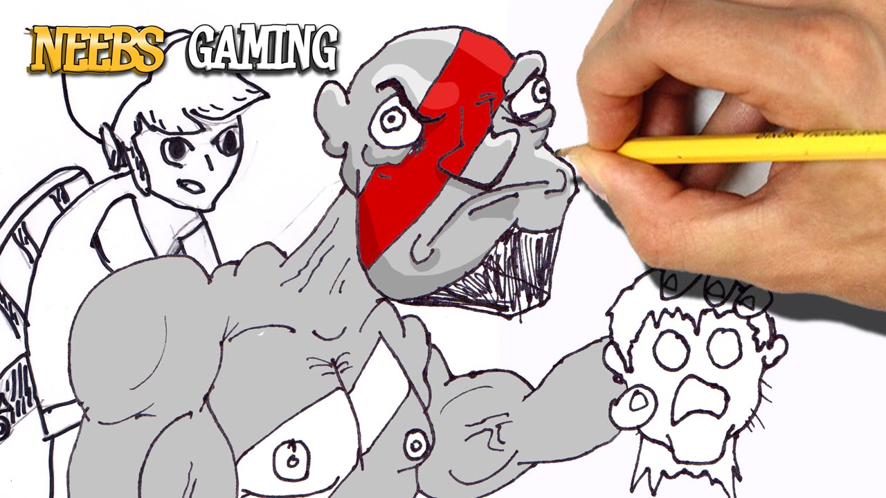 Video Game Drawing Challenge Youtube