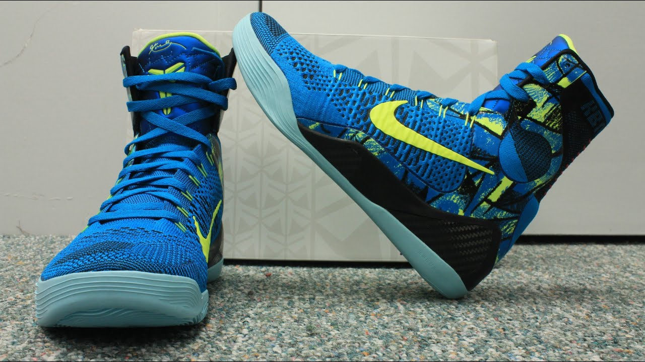 c3c0775af79 Nike Kobe 9 Elite Perspective Review - YouTube