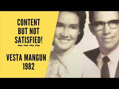 Content but not Satisfied by Vesta Mangun 1982