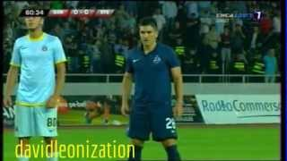 Dinamo Tbilisi - Steaua Bucharest (0-2) All Goals 30.07.2013