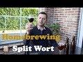 Split Wort - Homebrew Experience