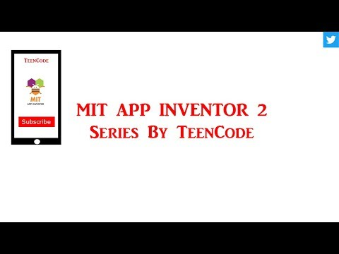Mit App Inventor Tutorial - Camera and Logic