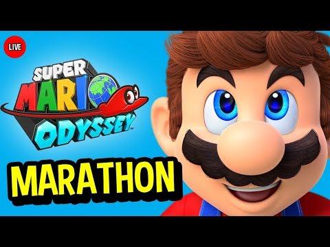 Super Mario Odyssey Gameplay LIVE - FULL GAME MARATHON COMPLETE (Super Mario Odyssey Gameplay)