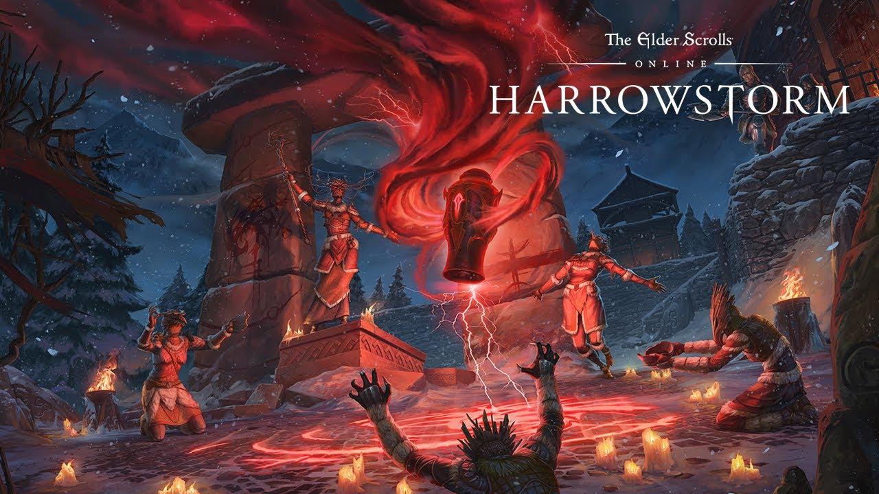 Resultado de imagem para ELDER SCROLLS ONLINE HARROWSTORM