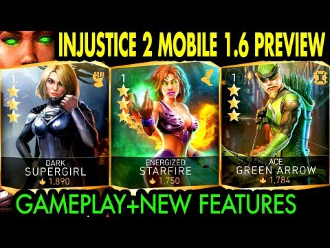 Injustice 2 Mobile 1.6 Update Gameplay + Review. New Characters, Leagues, Arena Changes and MORE!