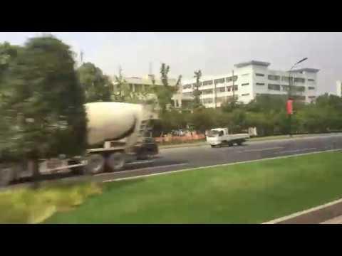 이우시장에서 상해 푸동공항까지. 중국의 시골모습