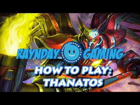 How To Play Thanatos: Combo Guide, Seas 3 Build and Gameplay! SMITE