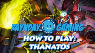 How To Play Thanatos: Combo Guide, Season 3 Build and Gameplay! (SMITE)