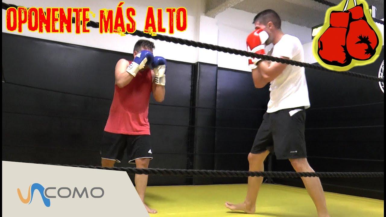 Cómo Pelear Contra Alguien Más Alto Boxeo Youtube