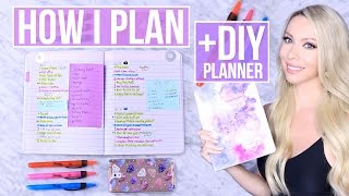 How I Plan (Bullet Journal Method)!