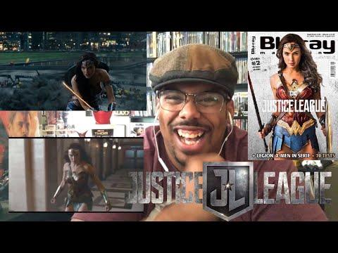 """Justice League Movie Clip """"Wonder Woman Rescue"""" Reaction!"""