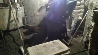 Видео работы вибропресса