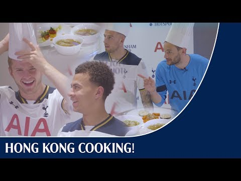 Hong Kong cooking competition! Eric & Dele v Toby & Hugo