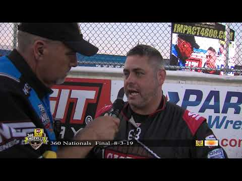 2019 - 360 Knoxville Nationals Crashes
