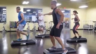 Orlando's Advanced Step Class at Blast Fitness, West Hartford, CT