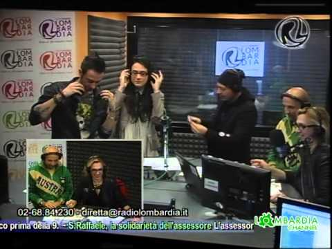 Mitch produce il brano  Donna Italiana xaxa live Radio Lombardia