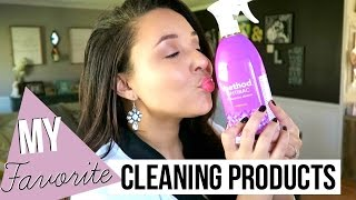 MY FAVORITE CLEANING PRODUCTS | HOW I CLEAN MY HOUSE | Page Danielle