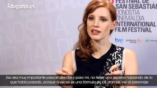 Entrevista Jessica Chastain por 'La desaparición de Eleanor Rigby'