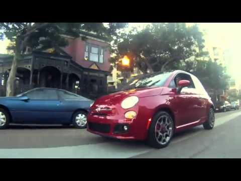 Metro FIAT Laura Soave and the FIAT 500 In Sandiego Ca.flv