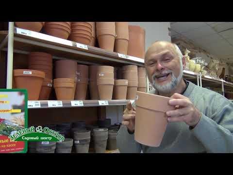 Глиняные горшки для комнатных растений