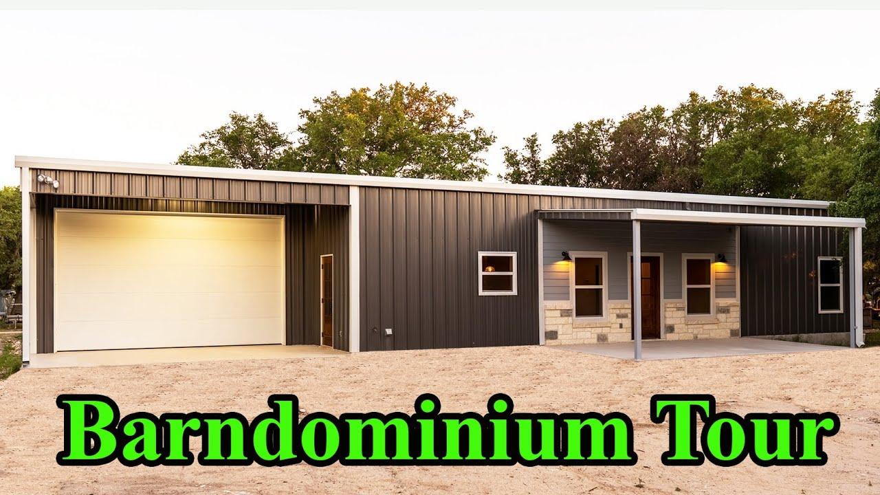 Barndominium Tour 252 and plans walkthrough   E75 S3