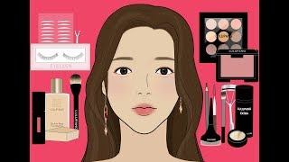 여신강림 급 변화 2탄/화장 스톱모션/메이크업 애니메이션/루루팡 설참