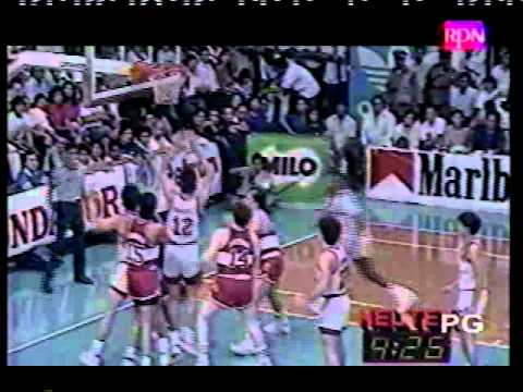 San Miguel Beer 1989 PBA Finals