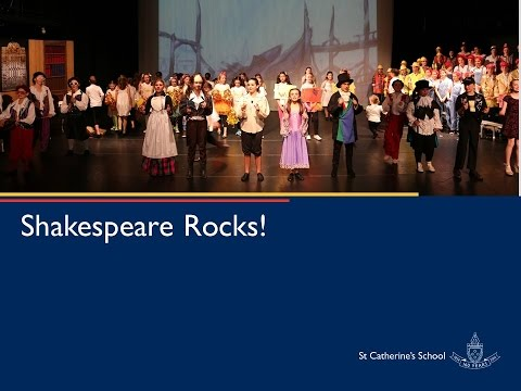 Shakespeare Rocks at St Catherine's - A 2016 Stage 3 Production