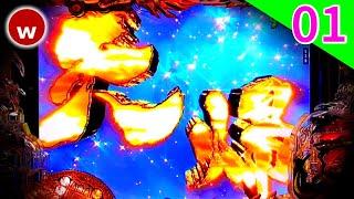 【P蒼天の拳双龍試打#01】ショールーム試打!【パチンコ新台】