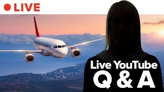 Ask Flight Attendants Anything • LIVE