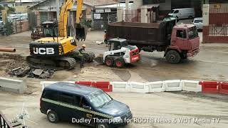 WDT Media TV Hagley Park Road Improvement Project