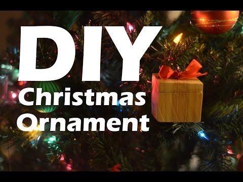 DIY Wooden Christmas Ornament and Ring Box #christmas #woodproject